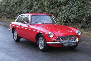 1969 MGB GT, O/D, Wire Wheels, thousands spent SOLD
