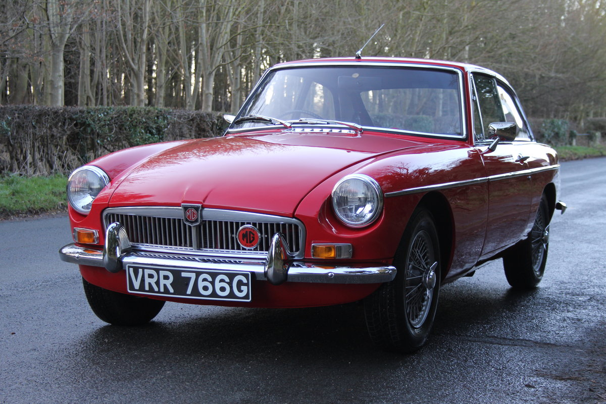 1969 MGB GT, O/D, Wire Wheels, thousands spent SOLD (picture 2 of 12)