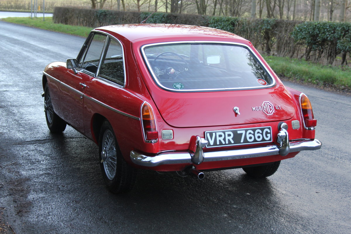 1969 MGB GT, O/D, Wire Wheels, thousands spent SOLD (picture 3 of 12)
