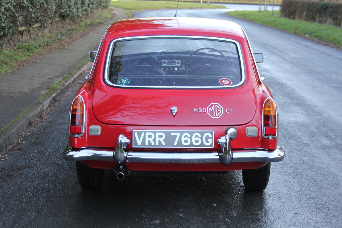 1969 MGB GT, O/D, Wire Wheels, thousands spent SOLD (picture 4 of 12)