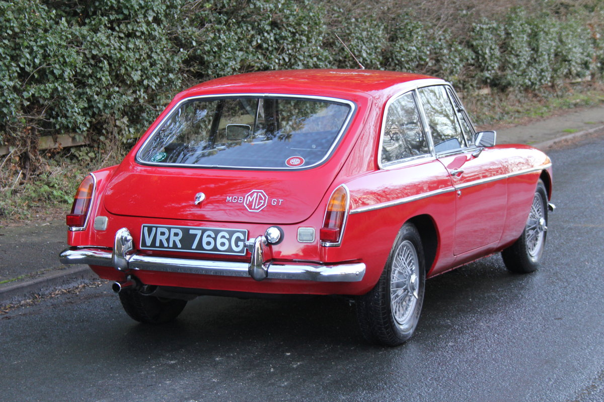 1969 MGB GT, O/D, Wire Wheels, thousands spent SOLD (picture 5 of 12)