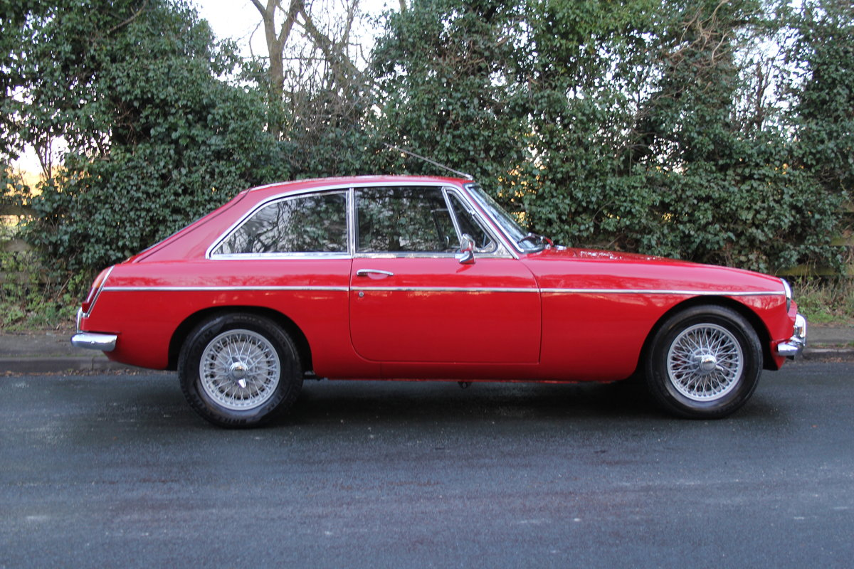 1969 MGB GT, O/D, Wire Wheels, thousands spent SOLD (picture 6 of 12)