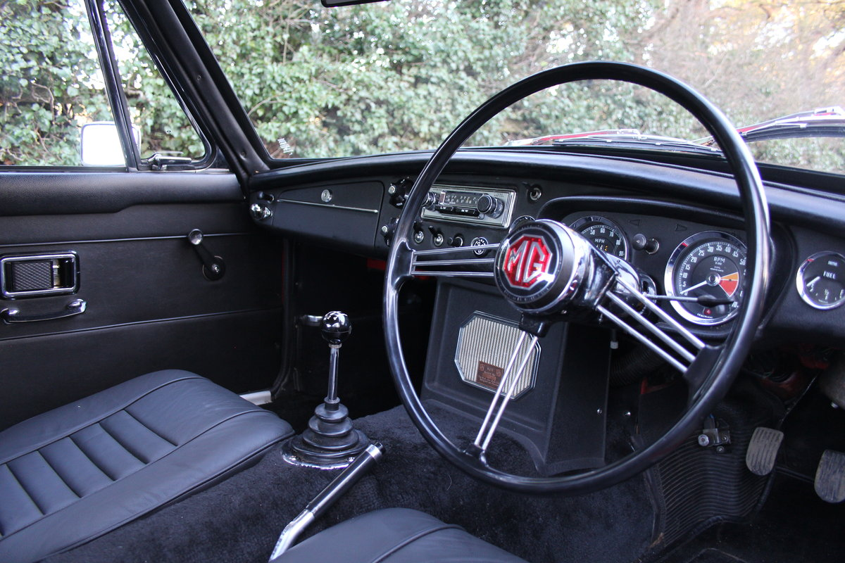 1969 MGB GT, O/D, Wire Wheels, thousands spent SOLD (picture 7 of 12)