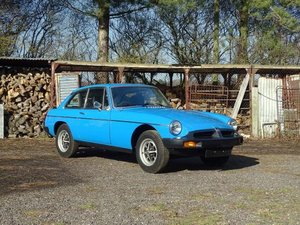 1982 MG B GT For Sale by Auction