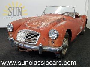 MGA 1959, very good basis for restoration For Sale