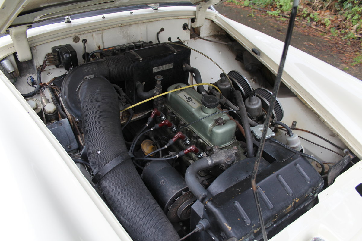 1967 MG Midget, hard top, wires, recent re-trim and re-paint For Sale (picture 12 of 12)