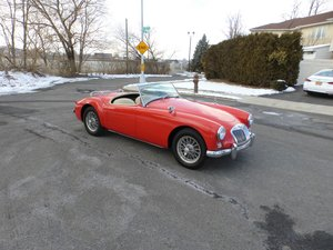 1957 MGA 1500 Older Restoration Nice Driver - For Sale