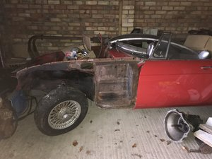 1965 MGB Roadster Project.. FIA eligible. For Sale