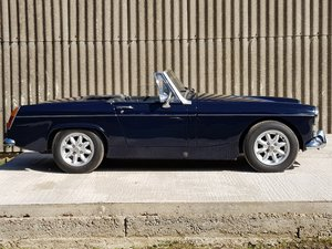 MG Midget 1275cc, 1972, Teal Blue SOLD