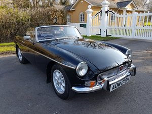 1970 MGB Roadster black, alloys wheels, Heritage Shell  SOLD