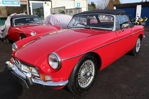1968 MGB HERITAGE SHELL, Tartan red. For Sale