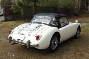 1958 MGA Roadster 1500 = clean Ivory(~)Red driver $42.5k For Sale (picture 2 of 6)