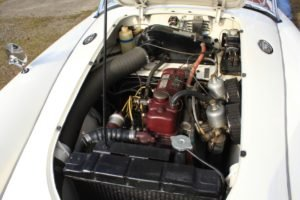 1958 MGA Roadster 1500 = clean Ivory(~)Red driver $42.5k For Sale (picture 5 of 6)