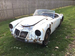 1960 MGA LHD Convertible for restoration For Sale