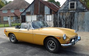 1973 MG B MGB Roadster Convertible For Sale