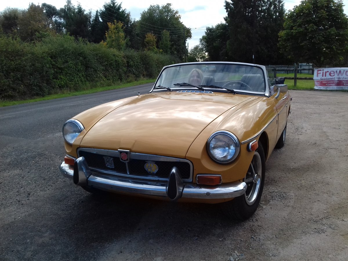 1973 MG B MGB Roadster Convertible SORRY NOW SOLD For Sale (picture 2 of 6)