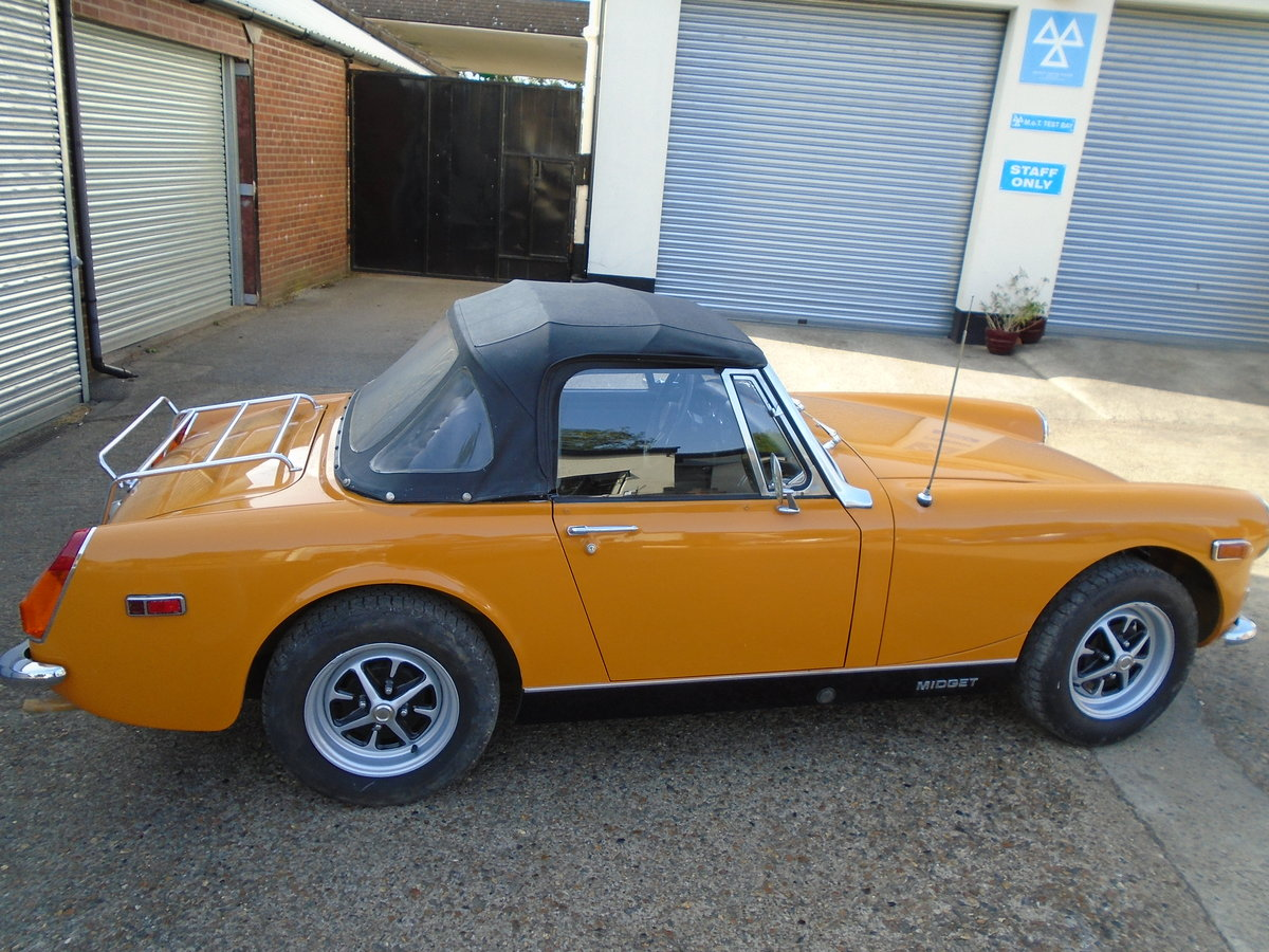 mg midget 1973.one owner SOLD (picture 2 of 6)