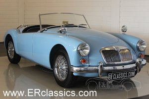 MGA 1961 Iris Blue restored 5-speed gearbox For Sale