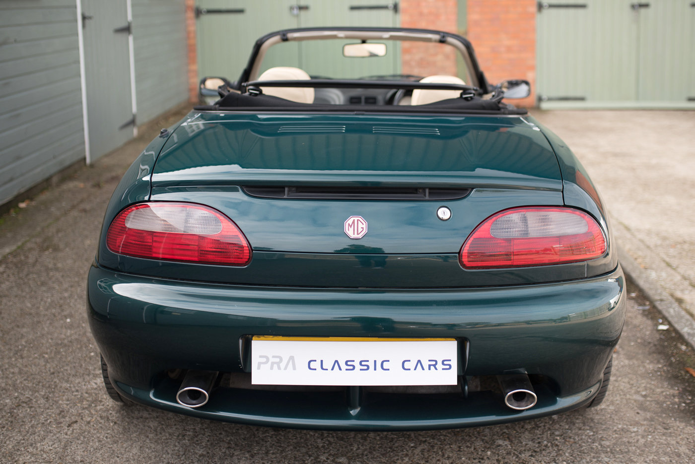 1996 MGF VVC 1800. 28900 miles SOLD (picture 3 of 6)