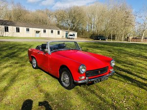 MG Midget 1275 cc mk 3 1969 Tartan Red For Sale