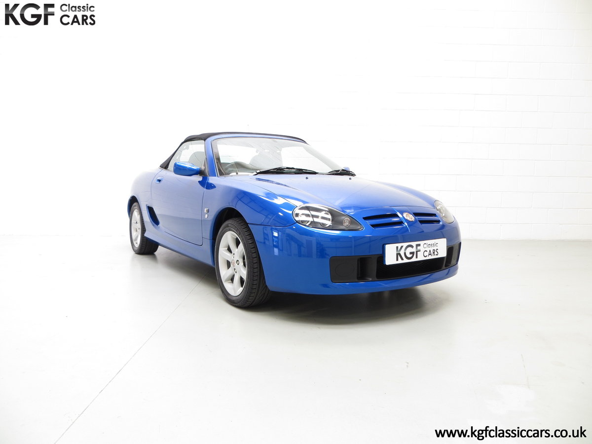 2004 A Stunning MG TF 135 with 19,636 Miles & Impeccable History SOLD (picture 1 of 6)