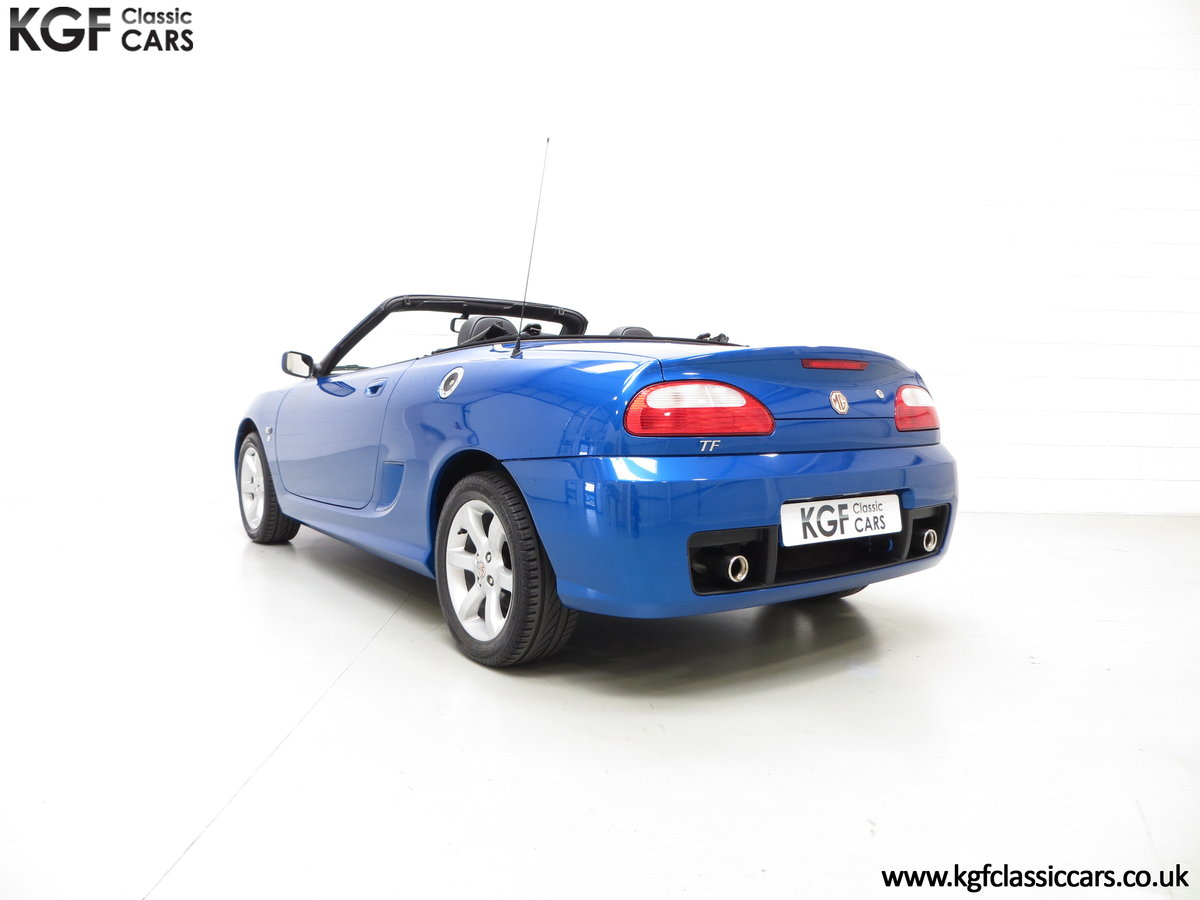 2004 A Stunning MG TF 135 with 19,636 Miles & Impeccable History SOLD (picture 4 of 6)