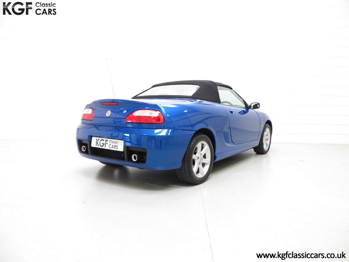 2004 A Stunning MG TF 135 with 19,636 Miles & Impeccable History SOLD (picture 5 of 6)