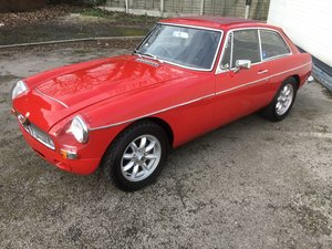 1970 MGC GT Manual / Overdrive.  For Sale