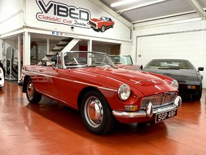 MGC Roadster 1968 - NOW SOLD SIMILAR CLASSICS REQUIRED SOLD