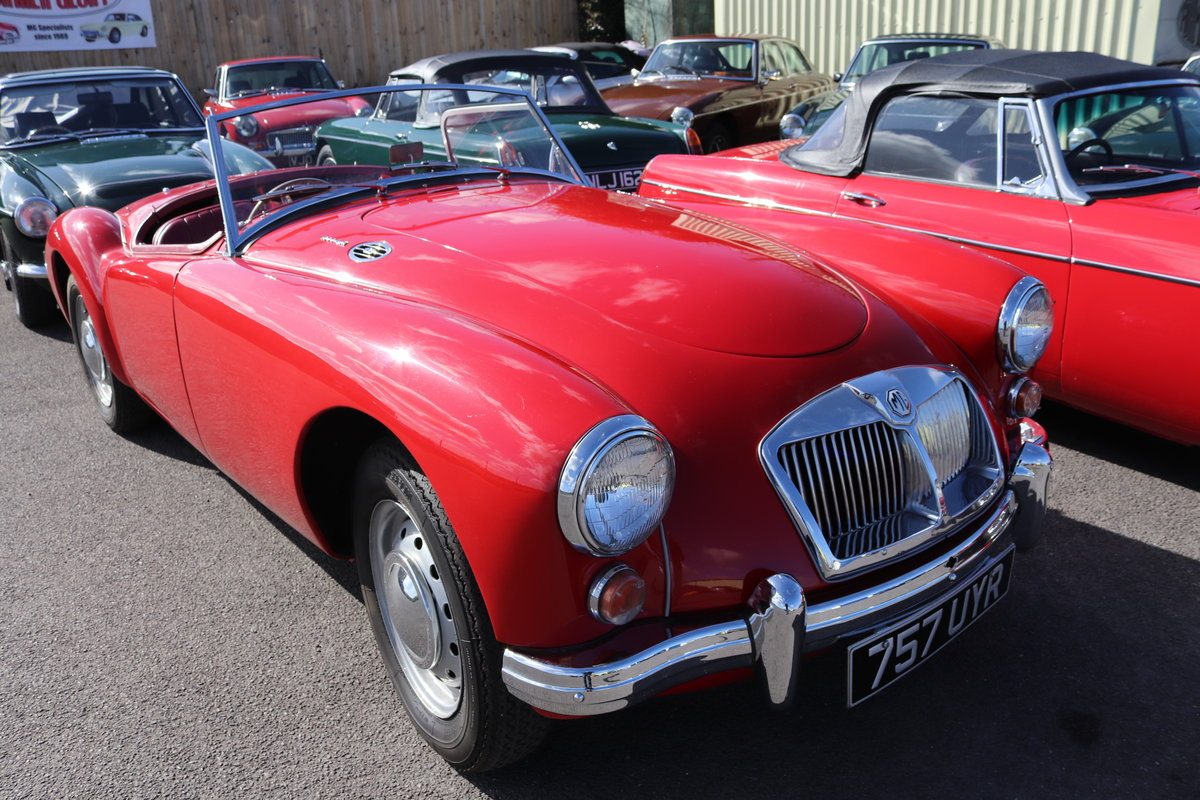 1961 MGA 1600 Mk2 Roadster, Rare UK Car , Fully restored For Sale (picture 1 of 5)