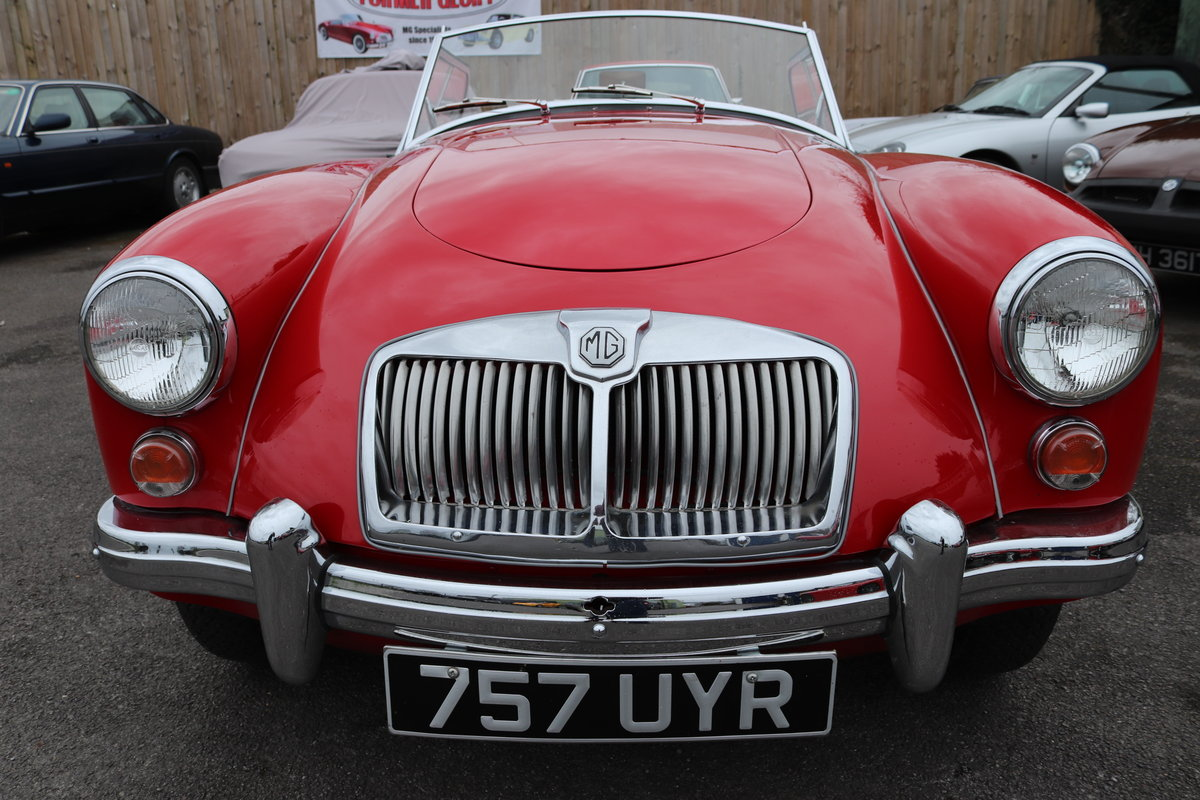 1961 MGA 1600 Mk2 Roadster, Rare UK Car , Fully restored For Sale (picture 5 of 5)