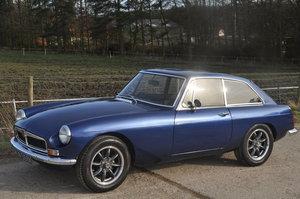 1972 MG MGB CHROME BUMPER TAX EXEMPT MGBGT RESTORED MOT For Sale