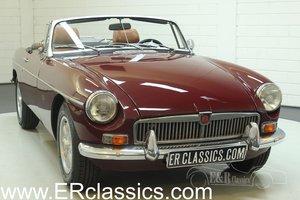 MGB Cabriolet 1976 Overdrive Damask Red For Sale