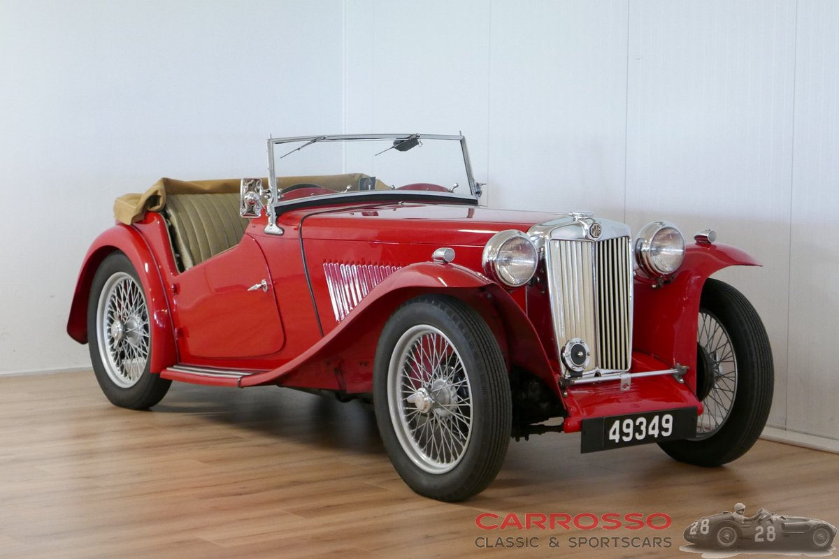 1949 MG TC Complete Body-off restored For Sale (picture 1 of 6)