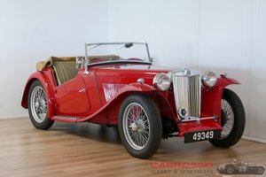1949 MG TC Complete Body-off restored For Sale