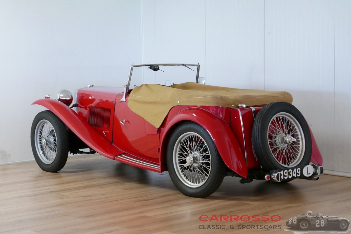 1949 MG TC Complete Body-off restored For Sale (picture 2 of 6)