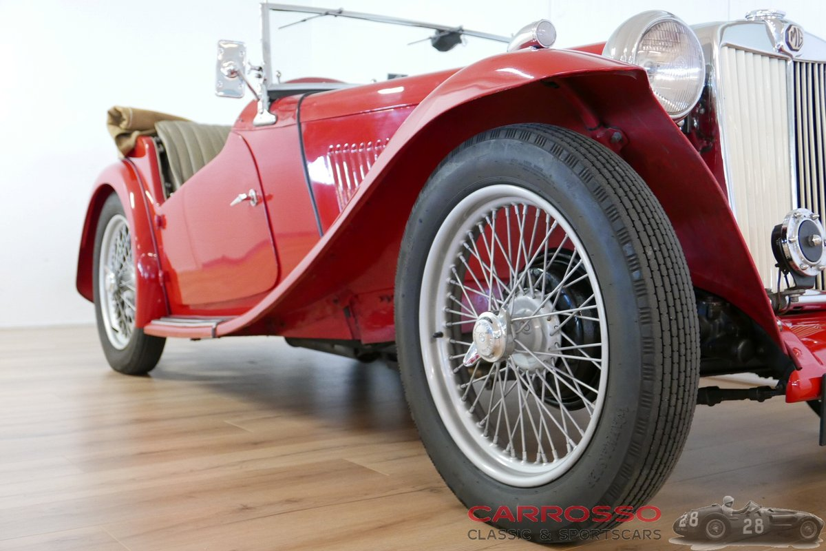 1949 MG TC Complete Body-off restored For Sale (picture 5 of 6)