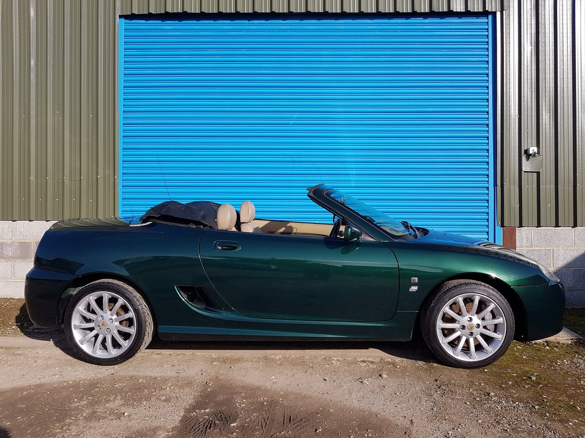 2002 MG TF 160 British racing Green / Beige Leather SOLD (picture 2 of 6)