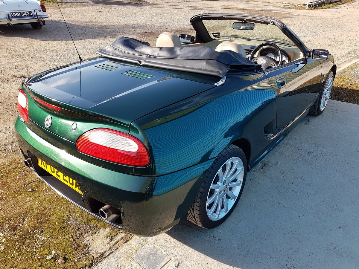 2002 MG TF 160 British racing Green / Beige Leather SOLD (picture 3 of 6)