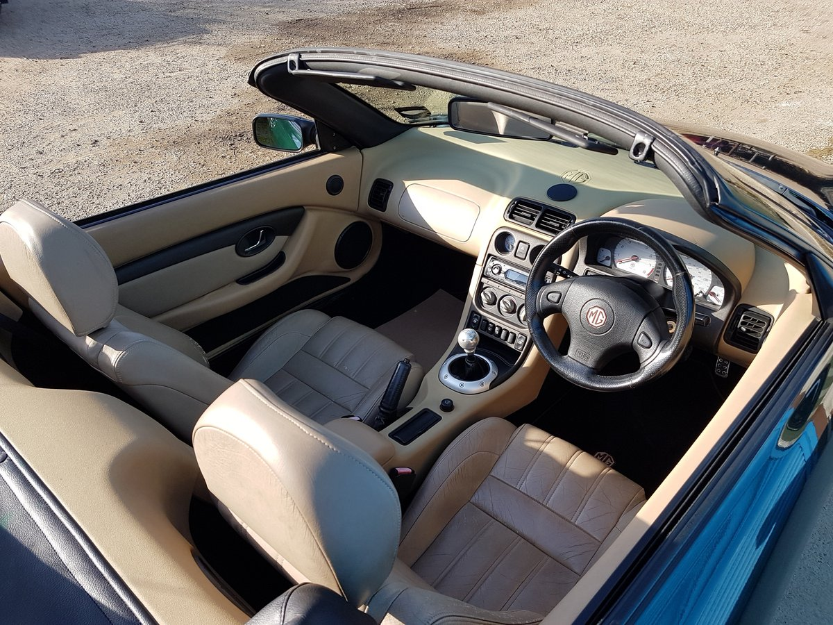 2002 MG TF 160 British racing Green / Beige Leather SOLD (picture 6 of 6)