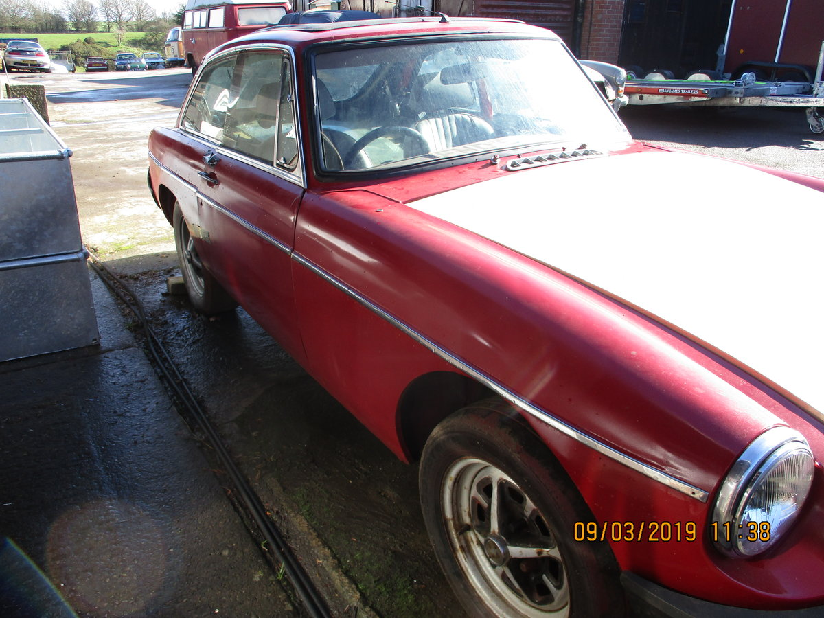 1980 MG B GT RESTORATION PROJECT For Sale (picture 2 of 6)