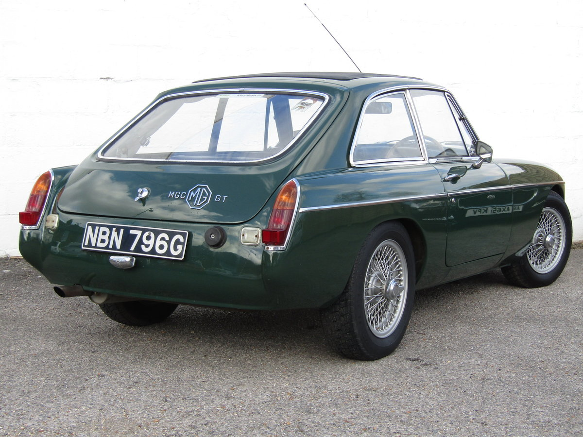 1969 MGC GT WITH SEBRING SYLING For Sale (picture 1 of 6)