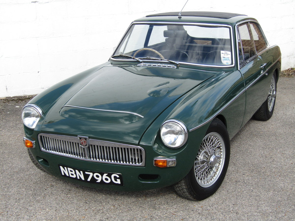 1969 MGC GT WITH SEBRING SYLING For Sale (picture 6 of 6)