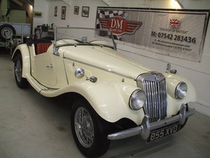 1954 MGTF  ( Midget  )   Right Hand Drive.  For Sale