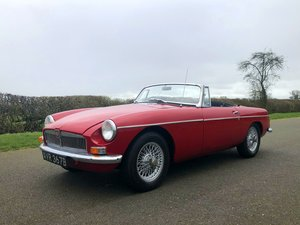 1964 MGB Roadster MK I Pull Handle SOLD