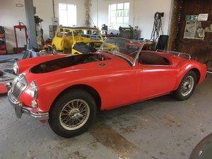 MGA ROADSTER 1960/61  For Sale