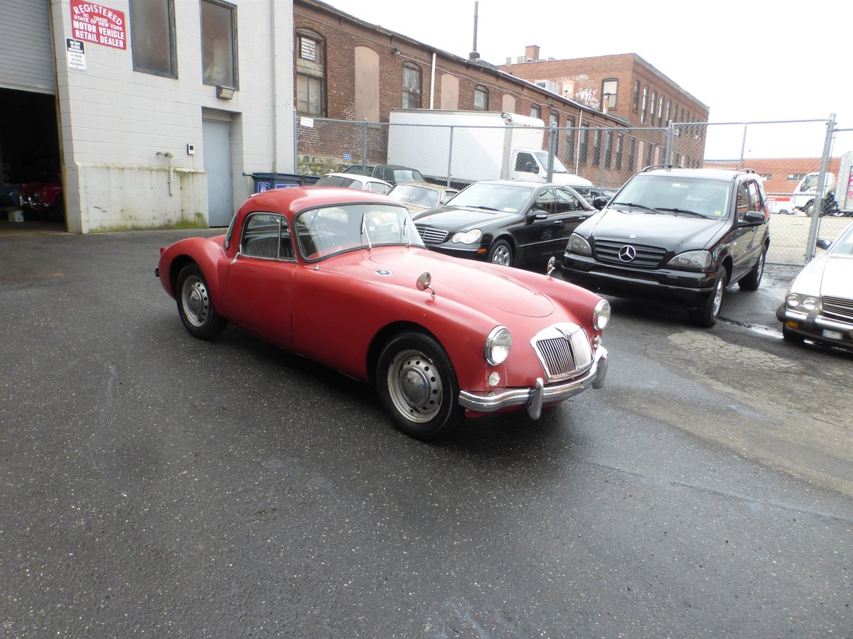 1958 MGA 1500 Coupe Nice Driver For Sale (picture 1 of 6)