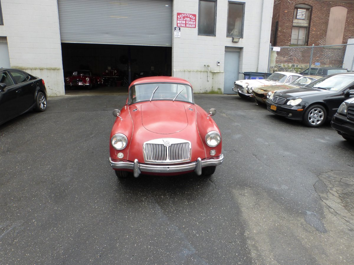 1958 MGA 1500 Coupe Nice Driver For Sale (picture 2 of 6)