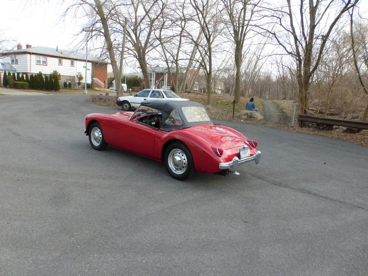 1959 MG A 1500 Older Restoration Nicely Presentable - For Sale (picture 4 of 6)