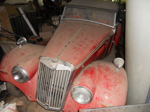 1954 MG TF convertible good condition For Sale